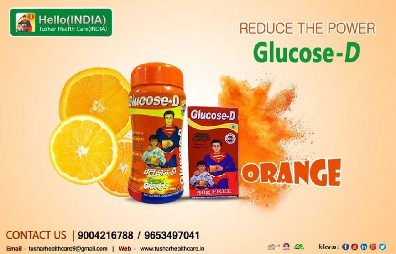 Glucose-D No 1 Orange Energy Powder 03