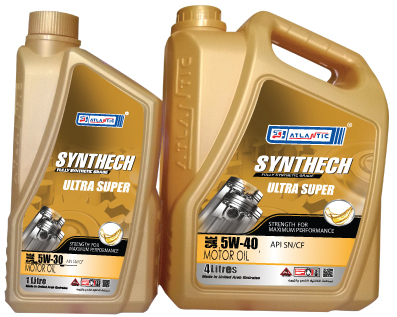 Atlantic Synthech Ultra Super Engine Oil