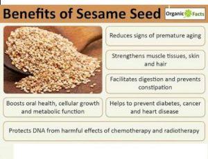 Benefit of Sesame Seeds