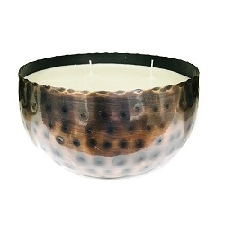 Metallic Bowl Candle 03
