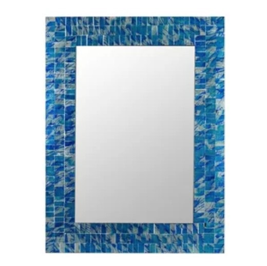 Mosaic Square Mirror