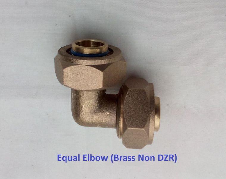 Brass Equal Elbow
