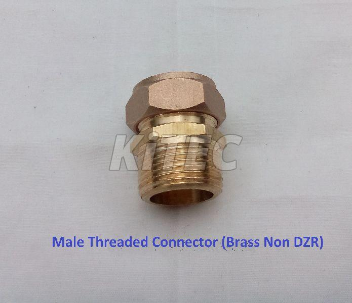 Brass Male Threaded Connector