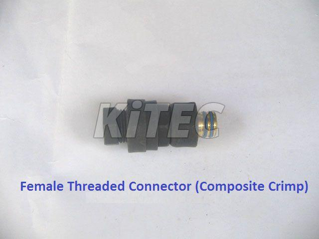 Composite Crimp Female Threaded Connector 01