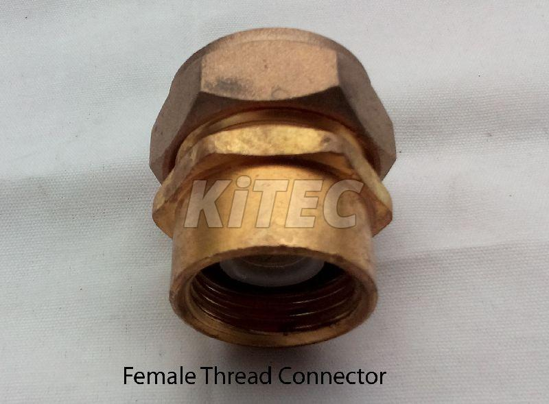 Composite Crimp Female Threaded Connector 02