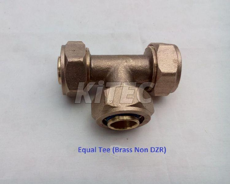 Brass Equal Tee