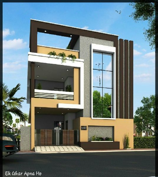 Glass Elevation Work In Faridabad India