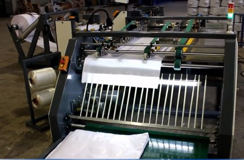 Auto Woven Bag Cutting & Sewing Line