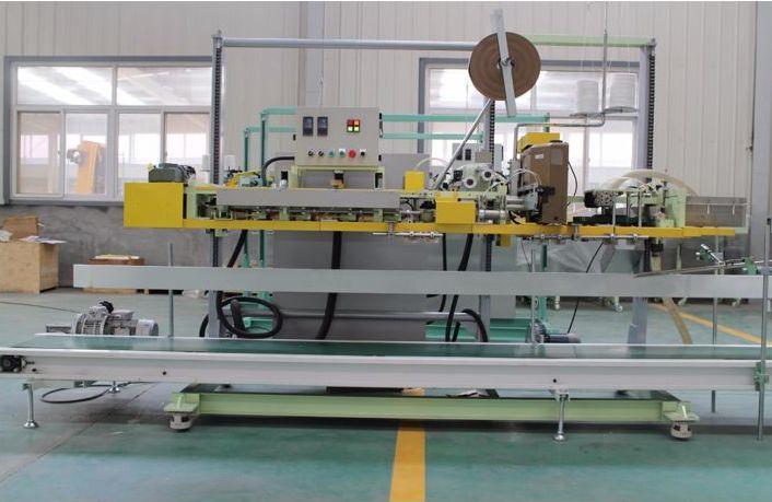 Heat Sealing With Bag Sewing Machine 01