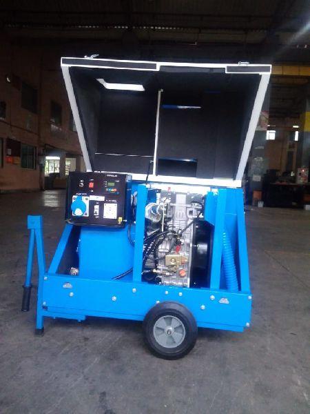 5 KVA Portablle Compact Diesel Genset