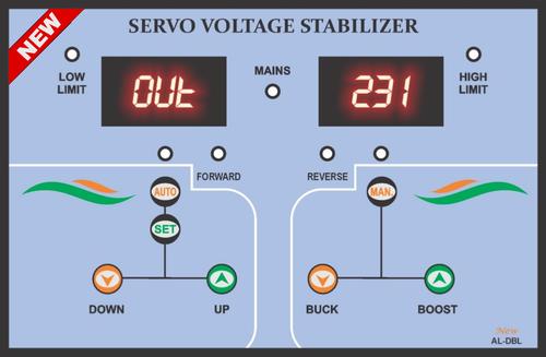 Digital Servo Voltage Stabilizer Controller 02
