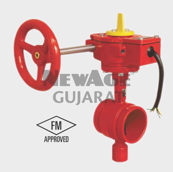Grooved Type FM Butterfly Valve