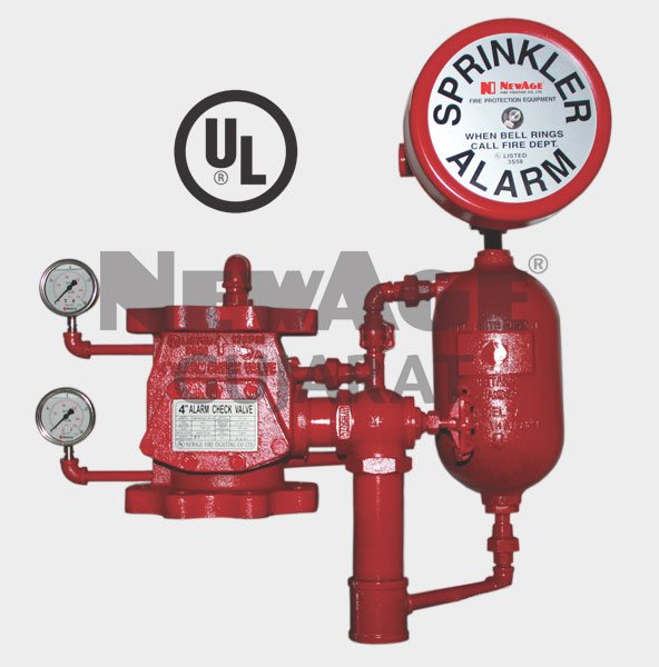 UL Approved Fire Alarm Valve