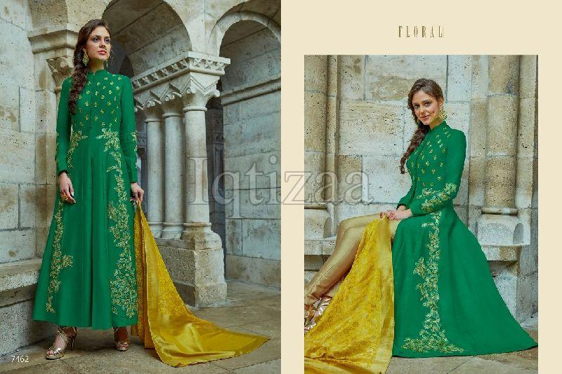 7462 - Floral Salwar Suit