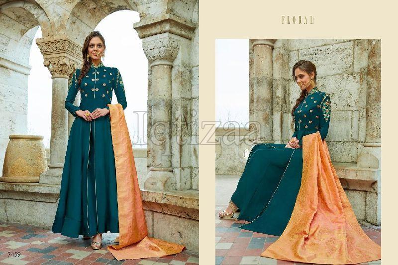 7459 - Floral Salwar Suit