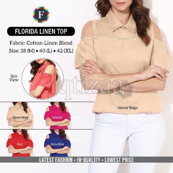 Florida Linen Top 02