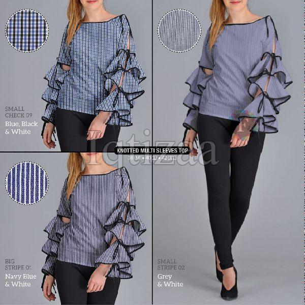 Knotted Multi Sleeves Top 01