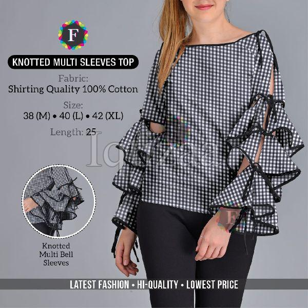 Knotted Multi Sleeves Top 02