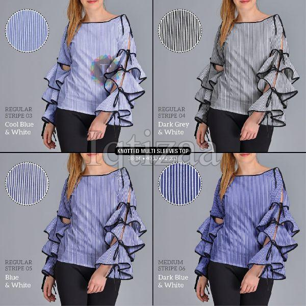 Knotted Multi Sleeves Top 05