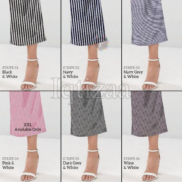 Knotted Striped Culotte