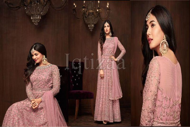 Net Heavy Anarkali Dress 01