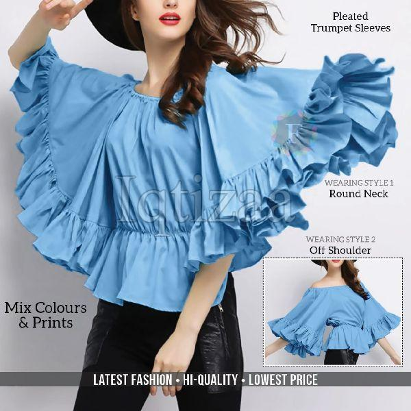 Ruffled Wing Top 03
