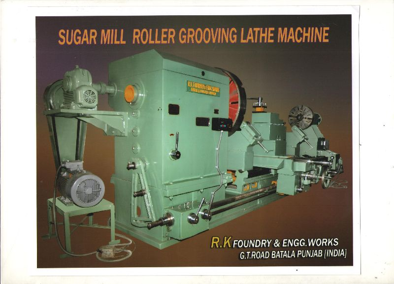 Sugar Mill Roller Grooving Lathe Machine