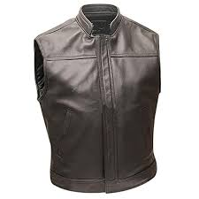 Leather Bikers Vest