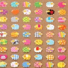 Multicolor Sticker