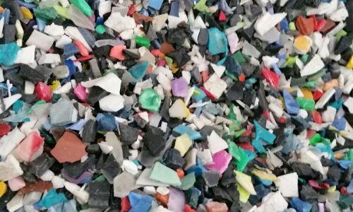 PP CP Mix Color Regrind Scrap