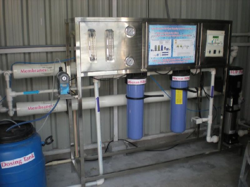 1000LPH Fully Automatic Drinking Water RO Plant 02