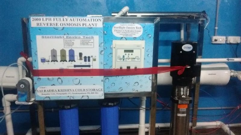 2000LPH Fully Automatic Drinking Water RO Plant
