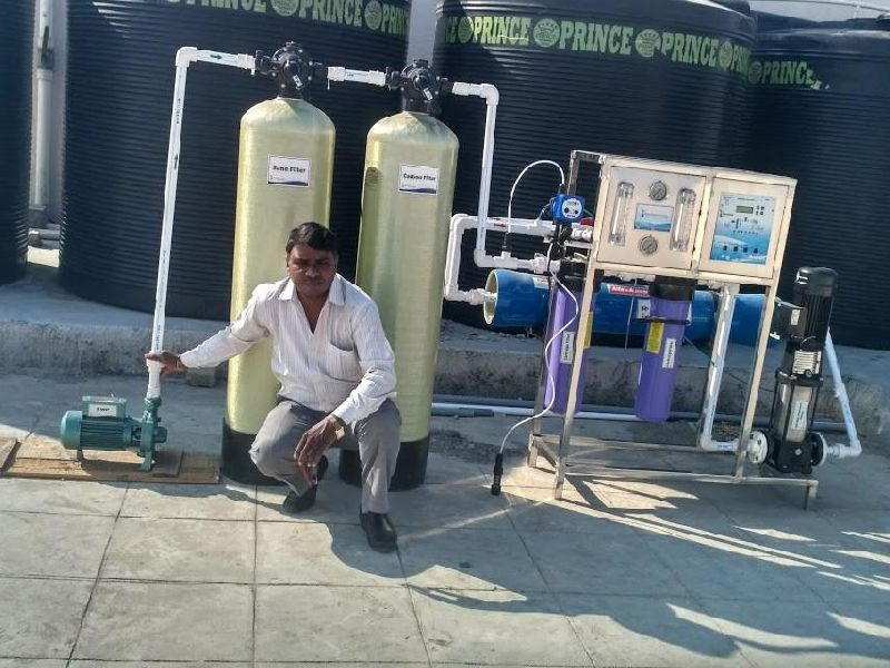 Commercial Hotel RO Plant