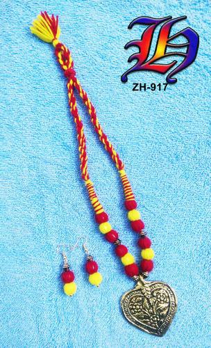 Antique Thread Necklace