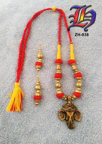 iThread Ganpati Necklace