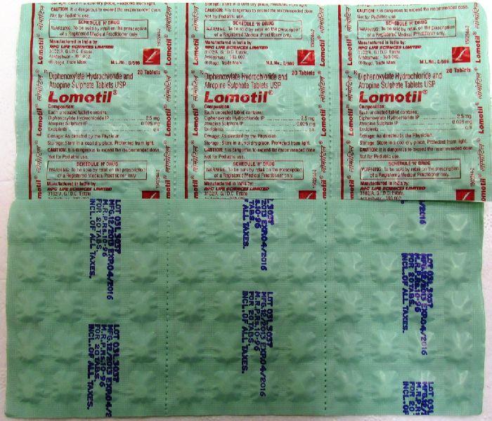 Lomotil Tablets