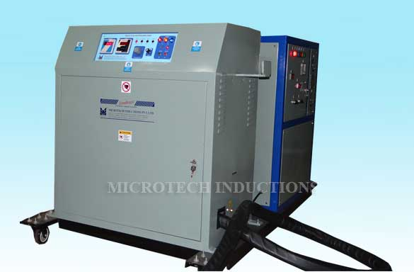Induction Brazing Machine with HHT 02