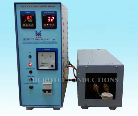 Planchet Heating Machines