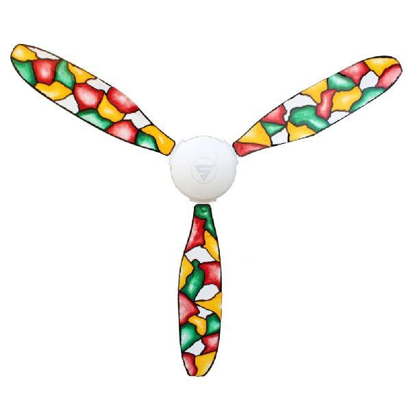 Super Unyc Mosaic Ceiling Fan 01