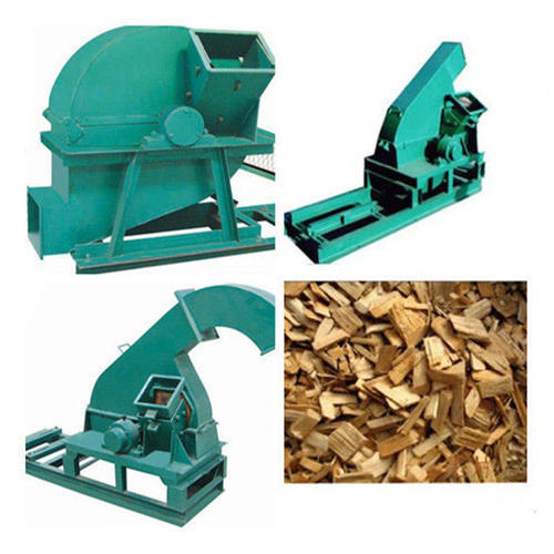Wood Chipper & Shredder Machine