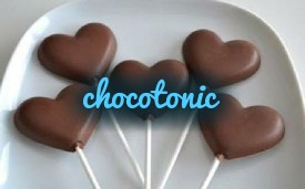 Chocolate lollipops 04