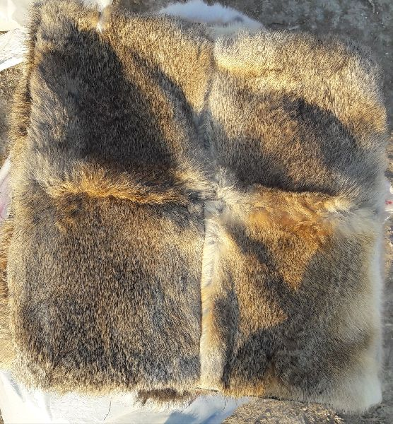 Rabbit Fur Cushion 01
