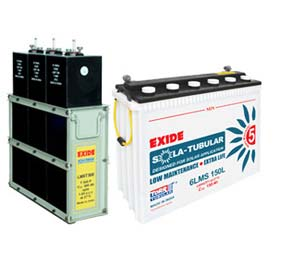 Exide Solar Batteries