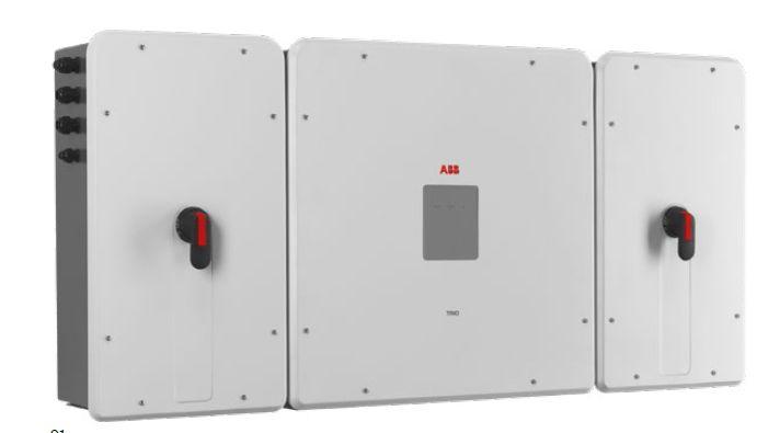 TRIO-TM 50 to 60 kW ABB String Inverter