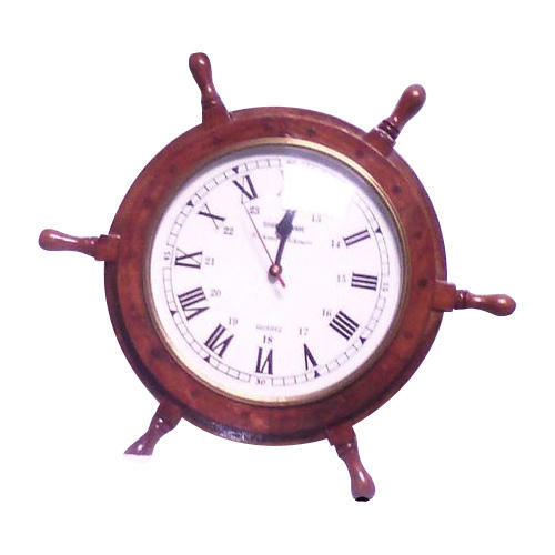 Wooden Wheel Clock
