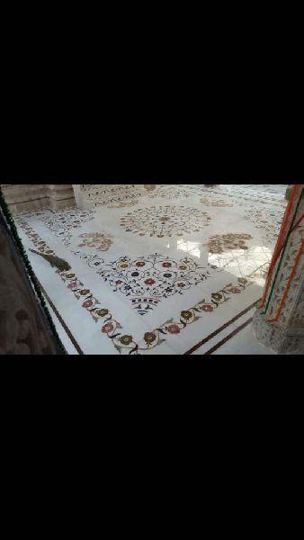 Marble Inlay Rangoli 05