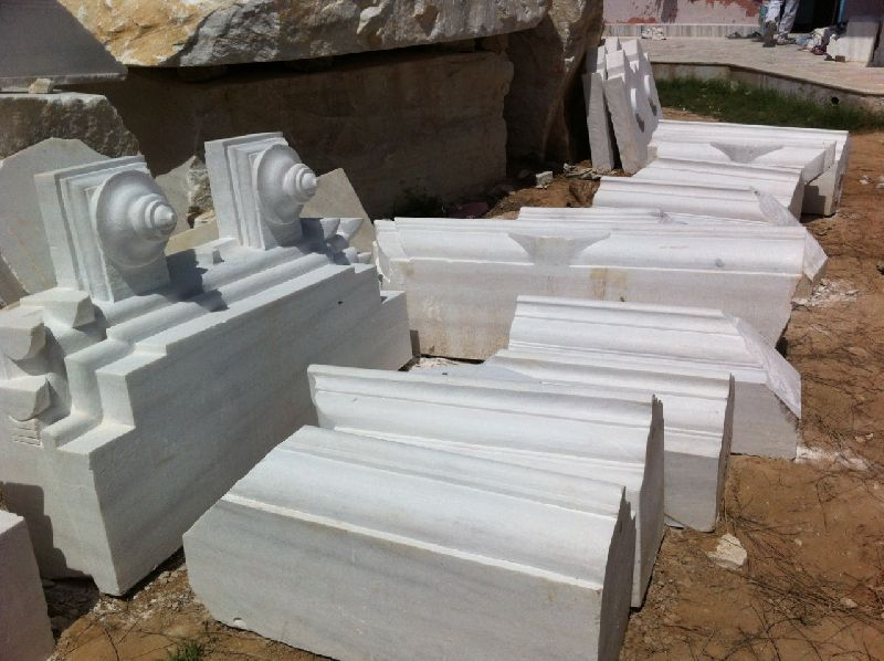 Marble Temple Carving 01