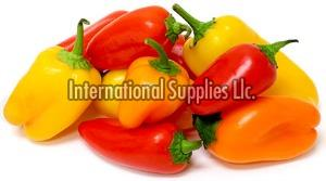 Fresh Red and Yellow Bell Pepper