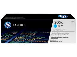 HP CE411A Cyan Toner Cartridge (305A)