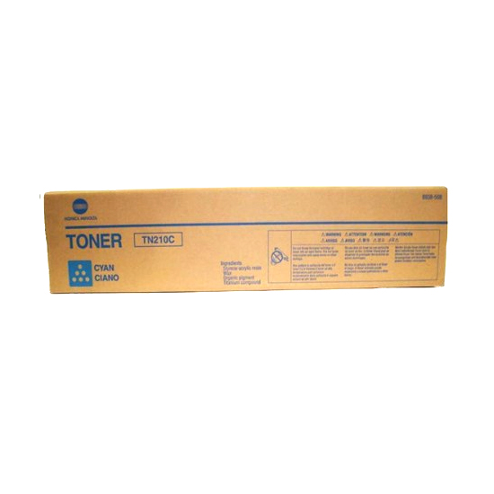 Konica Minolta TN - 210 Cyan Toner Cartridge